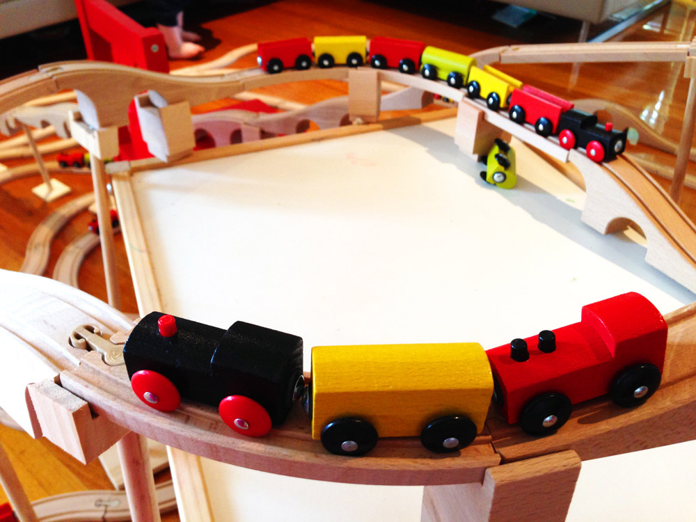 IKEA toy train