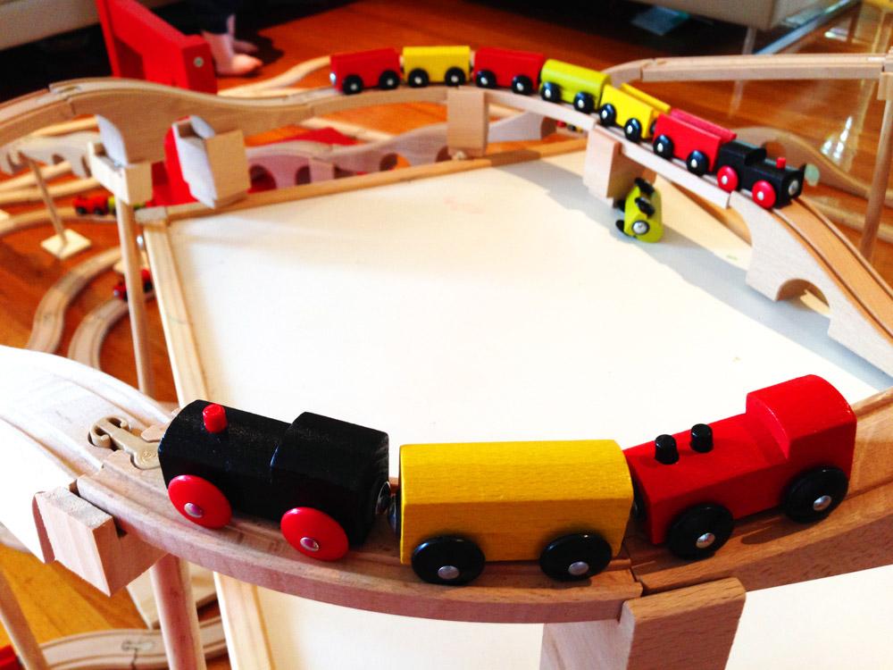 IKEA toy train