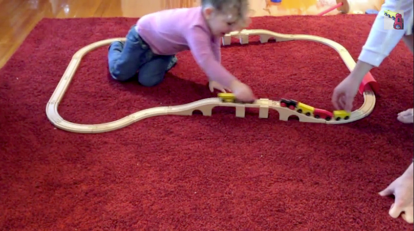 Our first train set