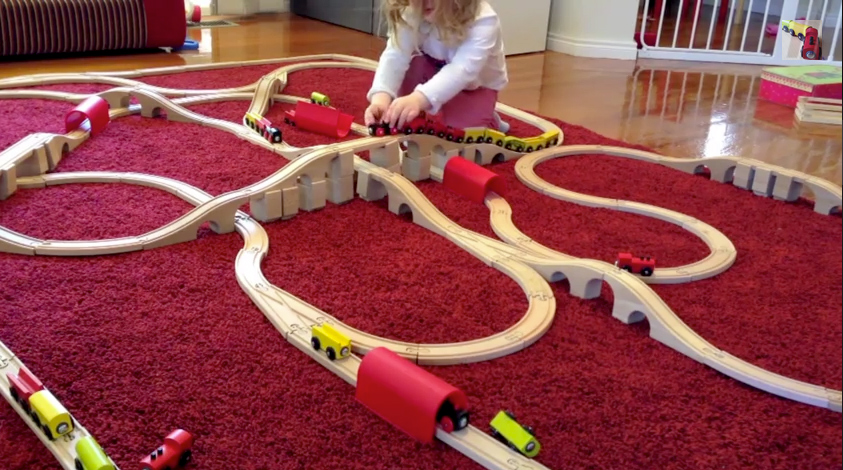 Check out our big week 6 train set